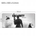 Call Of Duty Gaming Mat Non-slip Anti Fray Stitching Beautiful Mouse Pad
