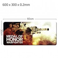 image of Medal Of Honor Gaming Mat Non-slip Anti Fray Stitching Beautiful Mouse Pad