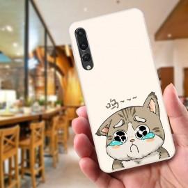 image of Huawei P20 Fushion Design TPU Protective Back Case