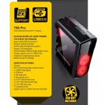 Official Armaggeddon T5X Pro Computer Gaming Atx Casing