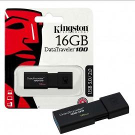 image of Official Kingston 16GB DataTraveler 100 Generation 3 USB 3.1 Gen 1/USB 3.0