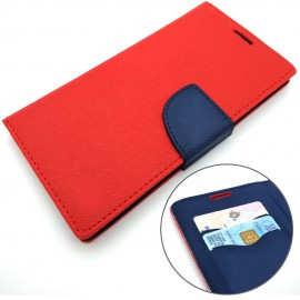 image of Samsung Galaxy J6 2018 Wallet Leather Flip Cover Case