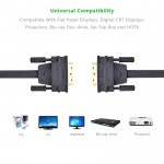 Original 1M Ugreen DV101 DVI 24+1 Dual Link Male to Male Digital Video Cable