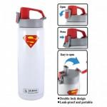 Zebra 0.6L Vacuum Bottle - Batman/Superman