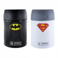 image of Zebra 0.38LT Vacuum Food Jar - Superman/Batman