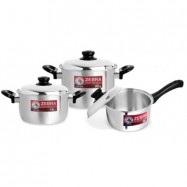 image of Zebra 6 Pcs Rooster Cookware Set