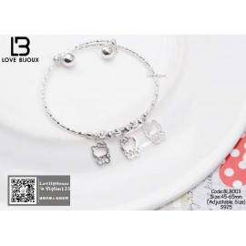 image of [Love Bijoux Cute Series] Cute Hello Kitty Baby Boy Bracelet BLB003
