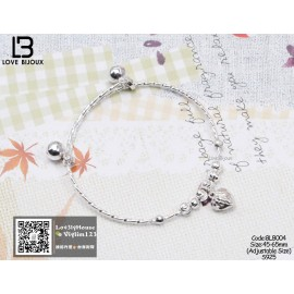 image of [Love Bijoux Sweetheart Series] Love Design Baby Bracelet BLB004