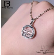 image of 【Love Bijoux】Fortune Abacus necklace PLB057