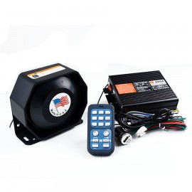 image of 200w Police Siren Car Alarm AS920 Car Styling Horn (Waterproof)
