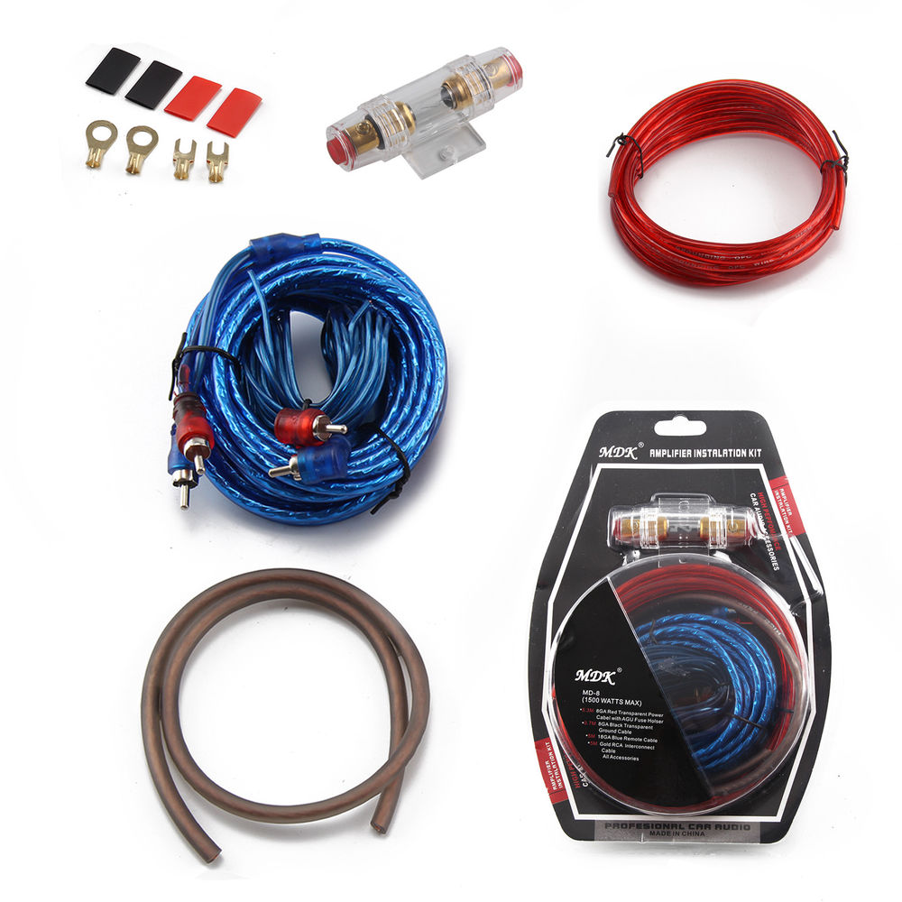 Car Audio 1500watts MDK Amplifier Wiring Kit