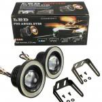 Universal 76mm/2.5inch Led Fog Angel Eyes Head Lamp