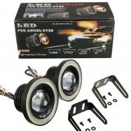 image of Universal 76mm/2.5inch Led Fog Angel Eyes Head Lamp
