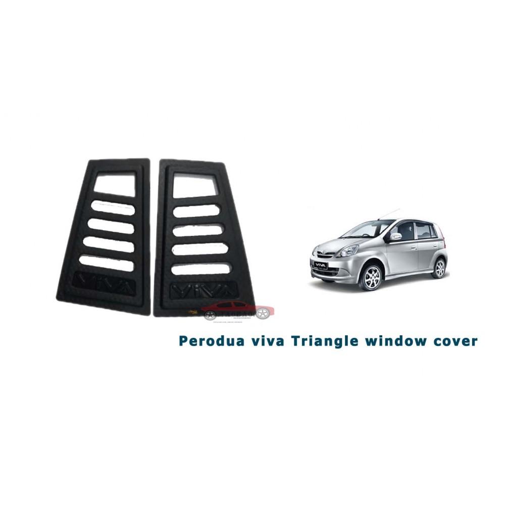 Perodua Viva Side WIndow Triangle Protector