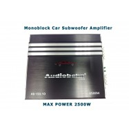 image of Audiobahn Max Power 2500w Monoblock Subwoofer Amplifier