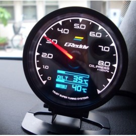 image of Greddy Multi D/A Gauge with 7 Colors