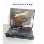 Audiobahn Parametric Pre-Amp with subwoofer output AB-Q400