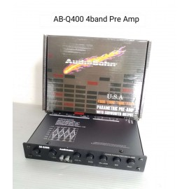 image of Audiobahn Parametric Pre-Amp with subwoofer output AB-Q400