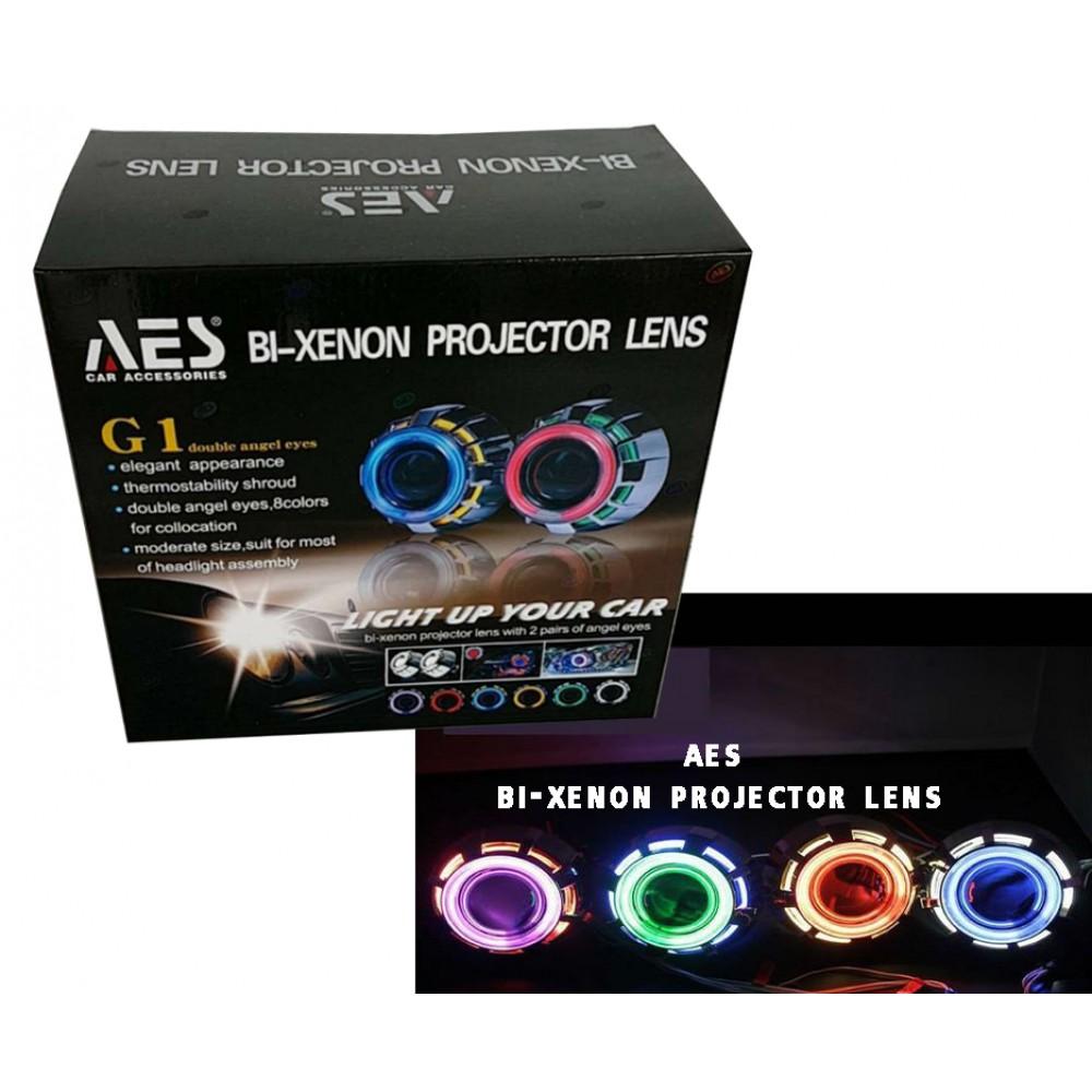 BI-Xenon Projector Lens G1 Angel Eye Light
