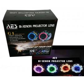image of BI-Xenon Projector Lens G1 Angel Eye Light
