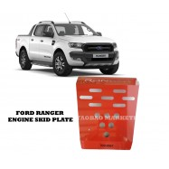 image of FORD RANGER ENGINE SKID PLATE [RED]