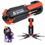 8 in 1 screwdriver and LED flashlight