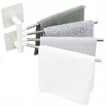 Rotate 180° Towel Rack