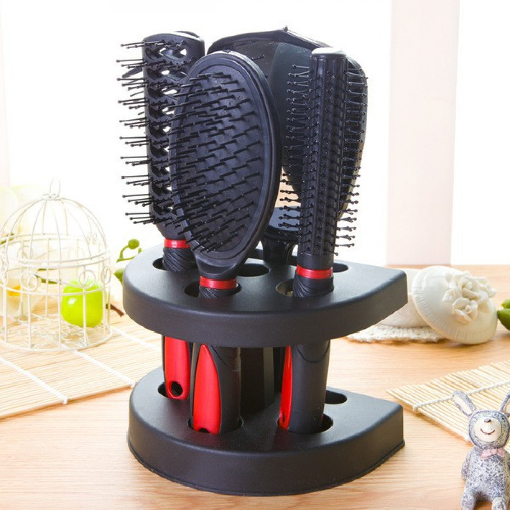 Hair Styling Brush with stand holder