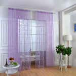 Bedroom Sheer Curtain 100cm x 200cm