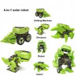 4-in-1 solar robot