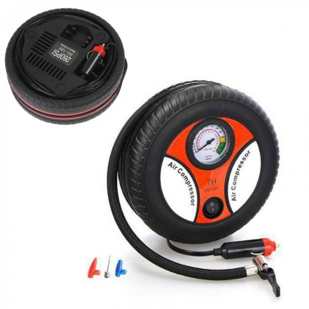 Mini Tire Automatic Air Pump (2975)