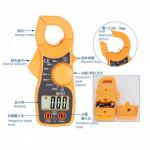 LCD Digital Clamp Multimeter with measurement Ac (2973)