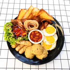 image of S.I.A.W Platter with one Free Drinks