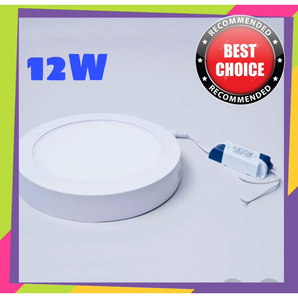 7INCH 12W SURFACE LED DOWNLIGHT