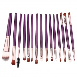 image of Beauty Essential Cosmetic Makeup Brush Women Foundation (15pcs)