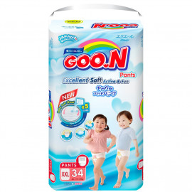 image of Goo.N Premium Pants Diapers (1 x XXL Super Jumbo Pack) - GooN