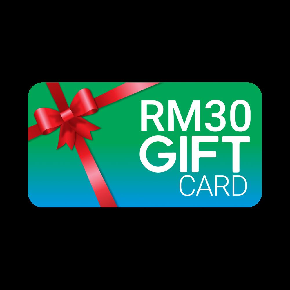 Gvado Gift Card Worth RM30