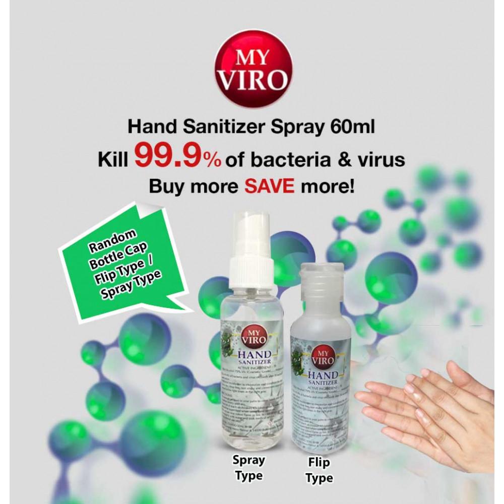 [Ready Stock]Hand Sanitizer Spray  60ML [Ethyl Alcohol 75% v/v]