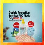 [Ready Stock]FOC 3 Masks]BUY Hand Sanitizer 500ML