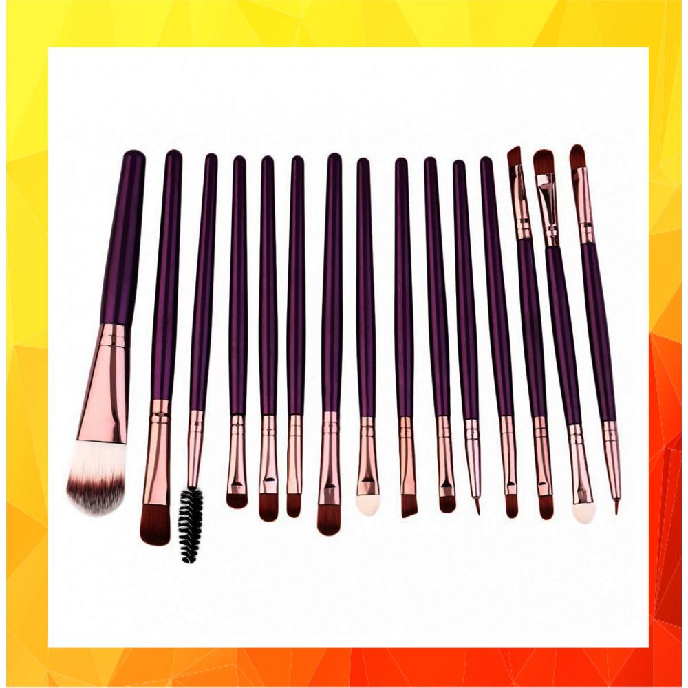 Beauty Essential Cosmetic Makeup Brush Women Foundation (15pcs)