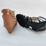5 CM ZIP LOMA WEDGER SHOES JB211-2