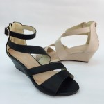 5 CM ZIP LOMA WEDGER SHOES JB 211-8