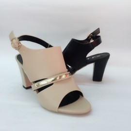 image of 7 CM BIG HEELS WOMEN SANDALS SHOES