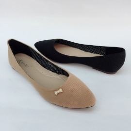 image of CASUAL FLAT LOAFERS SLIP-ON DOLLS SHOES 823-275