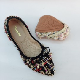 image of CASUAL FLAT LOAFERS SLIP-ON DOLLS SHOES 169
