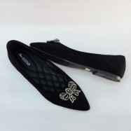 image of CASUAL FLAT LOAFERS SLIP-ON DOLLS SHOES 888-778