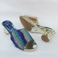 image of 5 CM BIG HEELS BLING BLING DINNER SHOES
