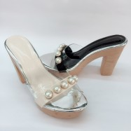 image of 12 CM WITH 4CM PLATFORM BIG HIGH HEELS SHOES 5832-5