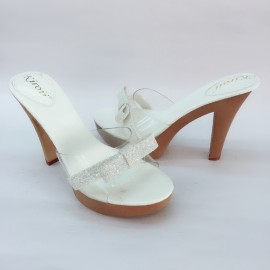 image of 10 CM HIGH HEELS PLATFORM CINDERELLA SHOES