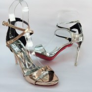 image of 10 CM SLIDE SANDALS HEELS